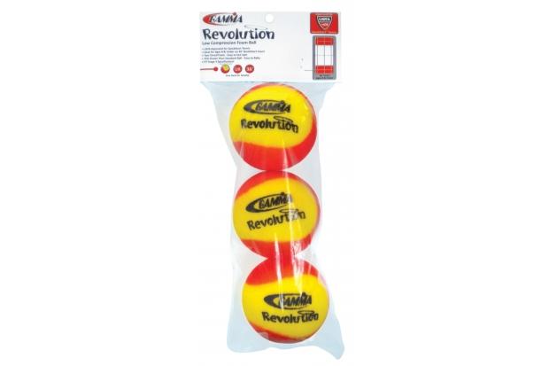 Мягкие мячи для тенниса Gamma Revolution