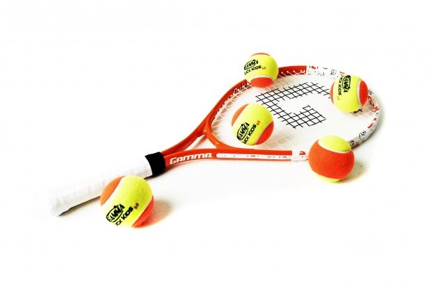 Детские теннисные мячи (оранжевые) 60`
