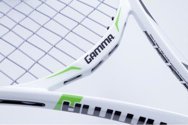 Профессиональная теннисная ракетка Gamma RZR 95  в белом дизайне