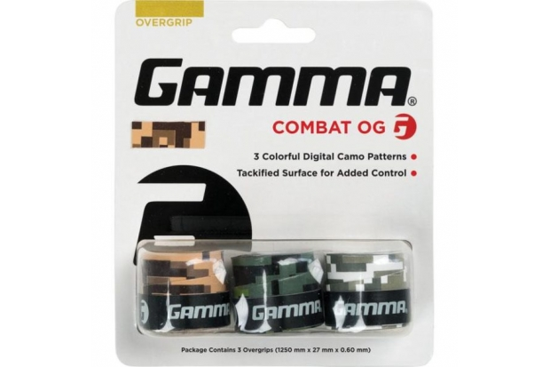 Намотка для теннисной ракетки Gamma Combat