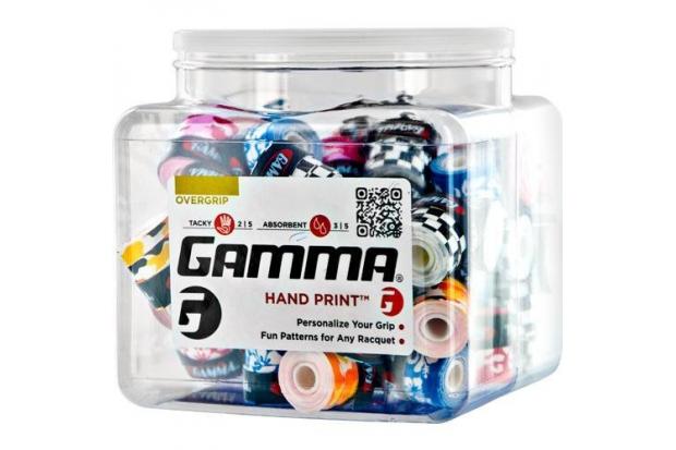 Обмотка для теннисной ракетки Gamma Hand  Print