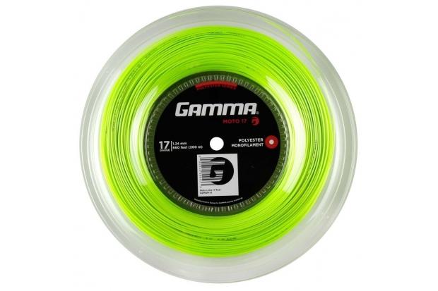 Теннисные струны Gamma Moto