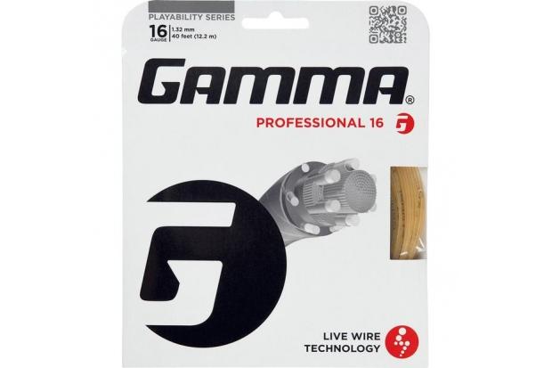 Теннисные струны Gamma Professional