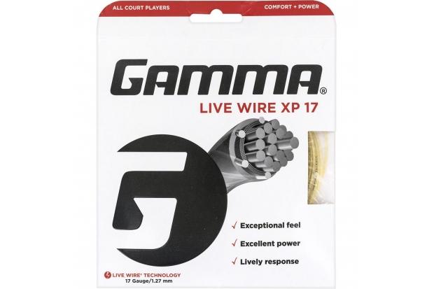 Теннисные струны Gamma Live Wire