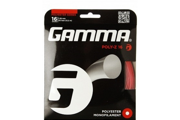 Теннисные струны Gamma Poly Z