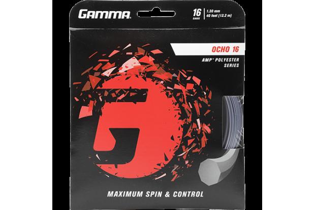 Теннисные струны Gamma Ocho