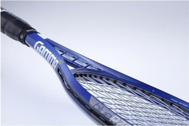 Теннисная ракетка Gamma RZR 98 в синем дизайне