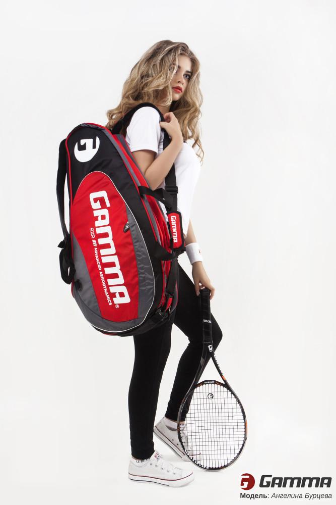 сумка для теннисных ракеток Gamma