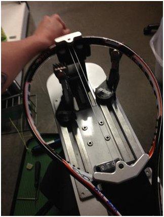 как натянуть струны на теннисную ракетку