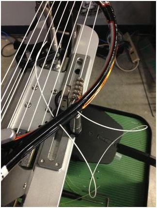 как натянуть струны на ракетку