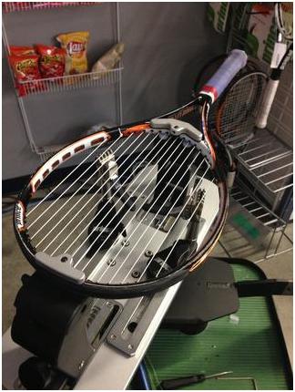 как натягивать струны на теннисную ракетку